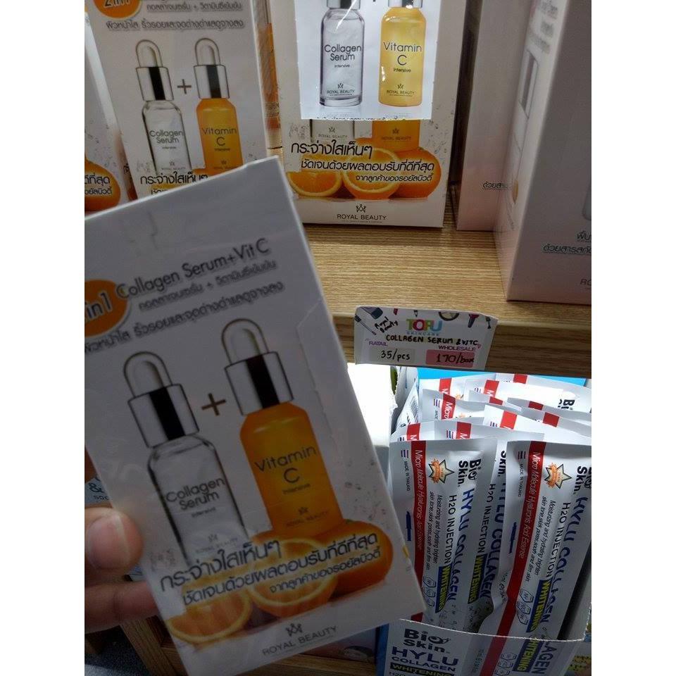 Serum C Collagen Vitamin Shop Hng Thi Lan Changbkk White Vit