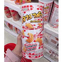 Snack mực lon Carada Thái Lan