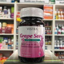 Vistra Grape Seed 60 mg 30 Caps