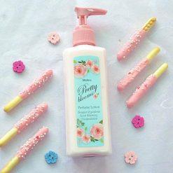 mistine pretty blooms perfume lotion