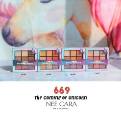 Nee Cara 9 Colors Eyeshadow Palette N669