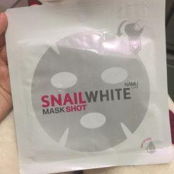 NAMU LIFE SNAILWHITE MASK SHOT