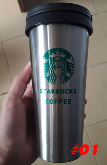 Bình Giữ Nhiệt Starbucks Tay Cầm