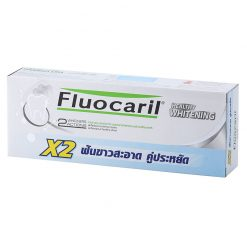 FLUOCARIL Toothpaste Whitening 160 G Double Pack