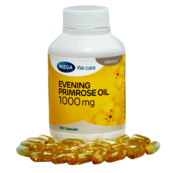 MEGA We Care Evening Primrose Oil