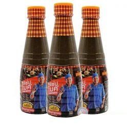 Mắm nêm trộn gỏi đu đủ Somtam Zab Mike Fish Sauce 350ml (combo 3 chai)