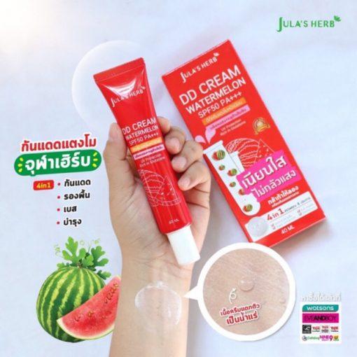 KEM CHỐNG NẮNG JULA'S HERB DD Cream Watermelon 40ml