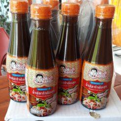 Set 3 chai nước sốt trộn gỏi Thái Lan hiệu Ja Wirat 350ml
