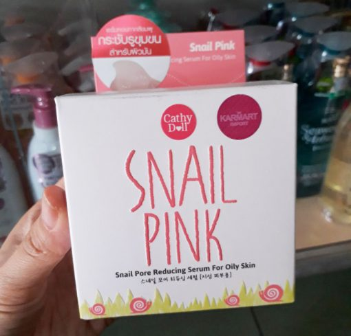 Cathy Doll Snail Pink Pore Reducing Serum For Oil Skin 50g