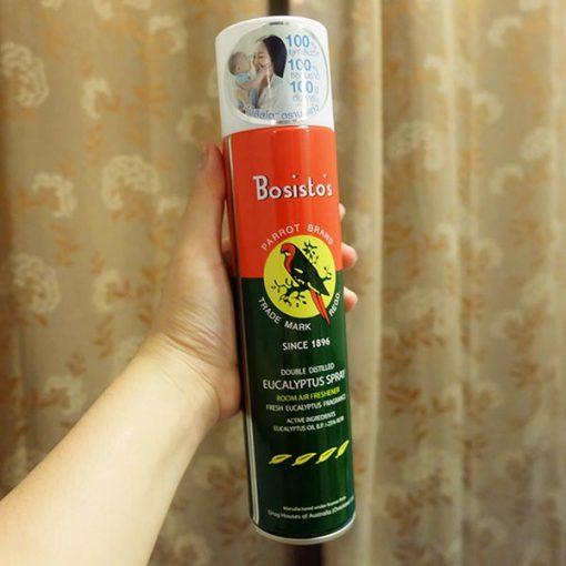 Xịt phòng khuynh diệp Bosisto's Eucalyptus Spray 300ml