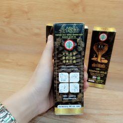 Dầu Massage rắn hổ mang Tonphor Gold