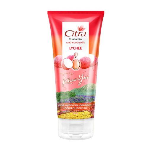 Citra Thai Aura Perfume Body Gel Lychee 200ml